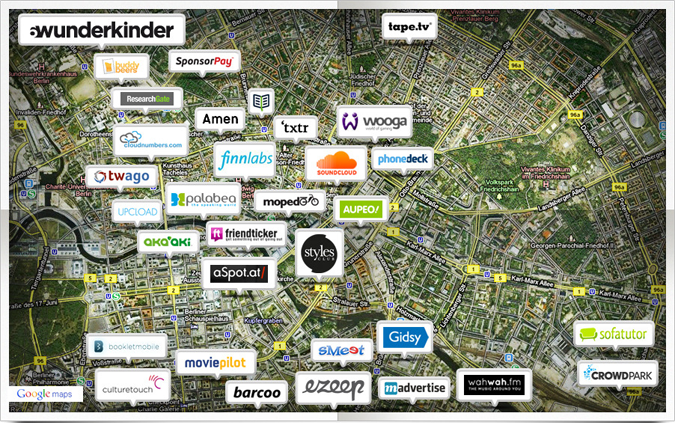 Berlins Tech Startup Scene
